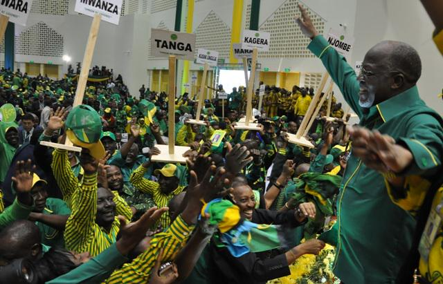 Tanzania's ruling party nominated the presidential candidate