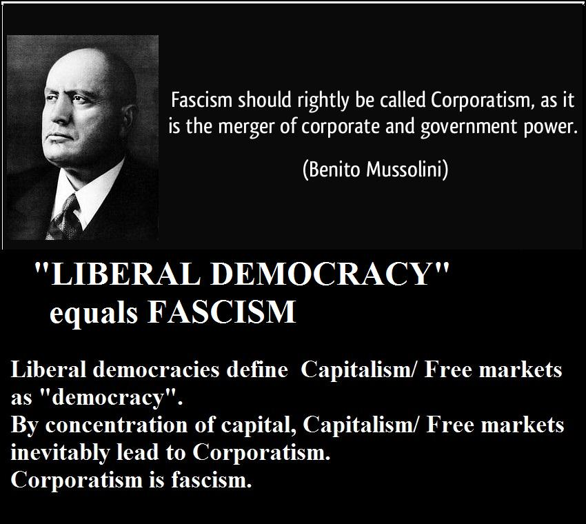 Free markets and Liberal Democracy?