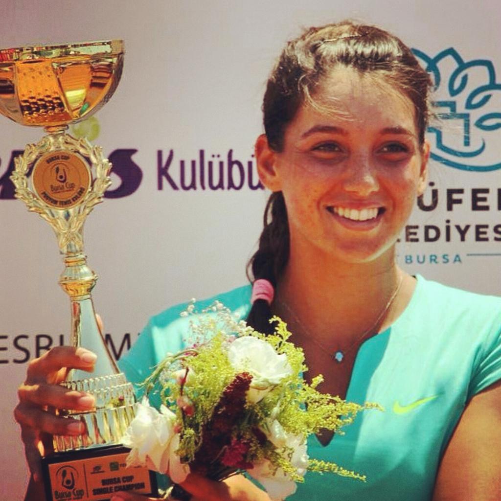 Bursa Cup Şampiyonu İpek Soylu WTA Dünya Sıralamasında 191. Oldu