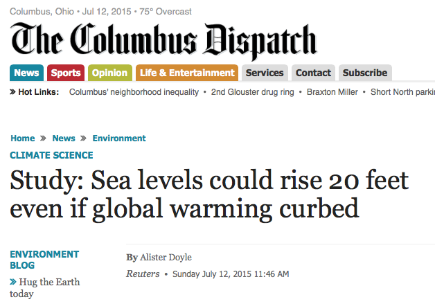 Global Warming To Cause Ice Age In 2030… Or A Flood - The Global ...