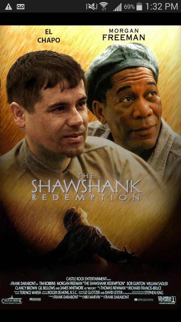 el chapo u0026 39 s prison escape in memes  mario bros  shawshank