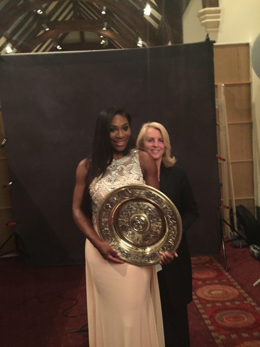It has been a great journey for #JillSmoller and @SerenaWilliams #wimbledon (Via FB) http://t.co/rqkQmMS6hx