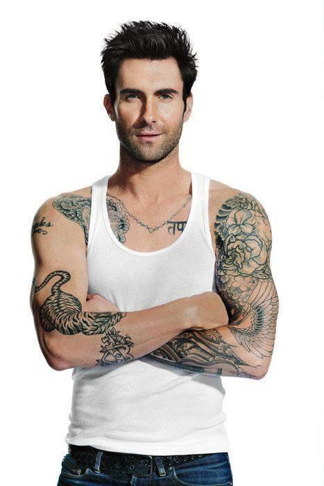 Maroon 5 facts maroon5fact twitter for Maroon 5 tattoos hindu