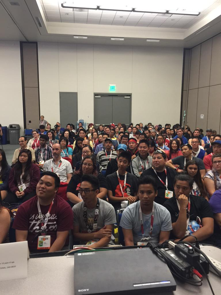 Super Asian America panel is PACKED #SDCC http://t.co/xT1VebyTFq