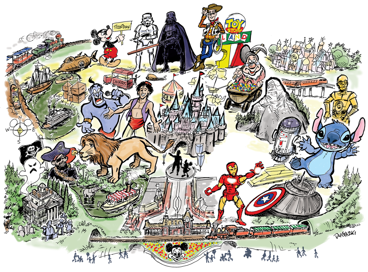 A star wars land, a lion king festival… what might ...