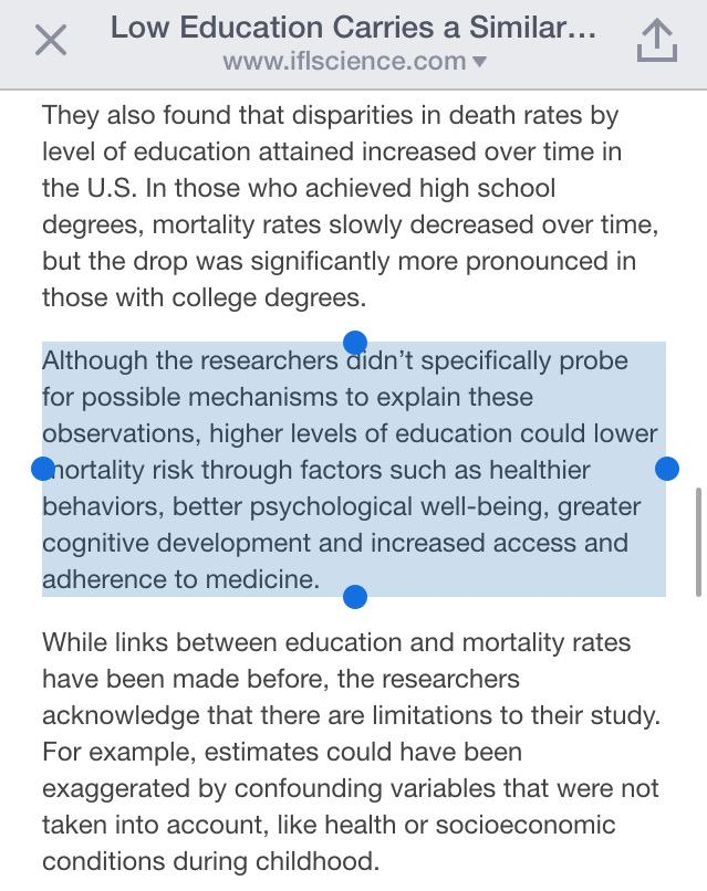 Study Finds High Rate Of Developmental >> Jl On Twitter Learn More Live Longer Study Finds Low