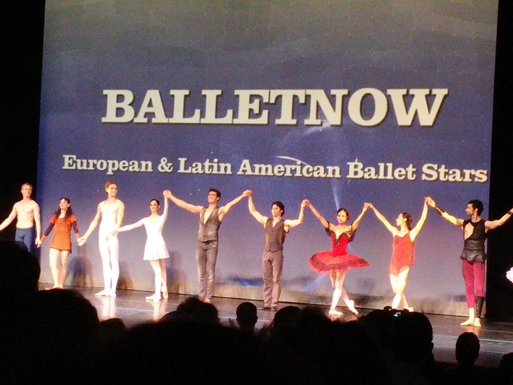 Bravo #BalletNow! 👏 @RobertoBolle  #HermanCornejo @MusicCenterLA http://t.co/ayRSC3Q2nL