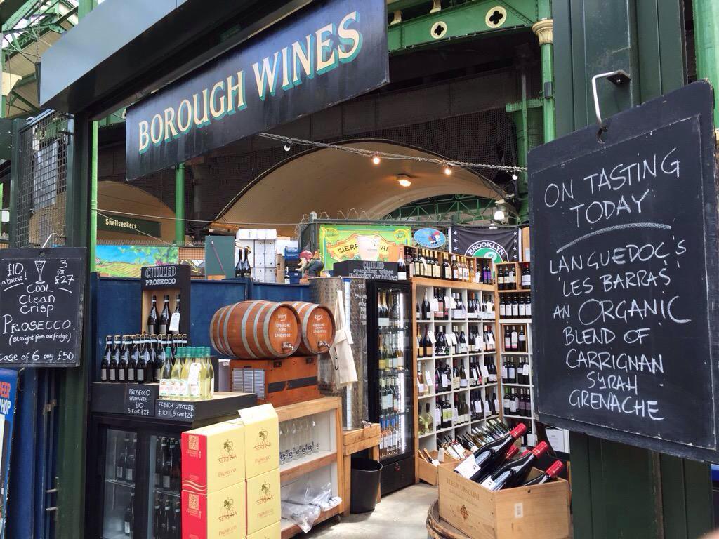 Image result for borough market borough wine