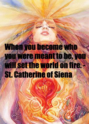 Set the world on fire with who you came here to BE. http://t.co/8NF3JmFQMd