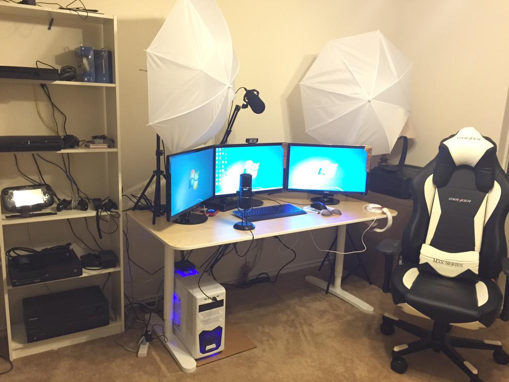Misskyliee On Twitter Quot Check Out My New Streaming Setup