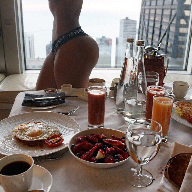 прикольные фото для любимой на утро раз мне