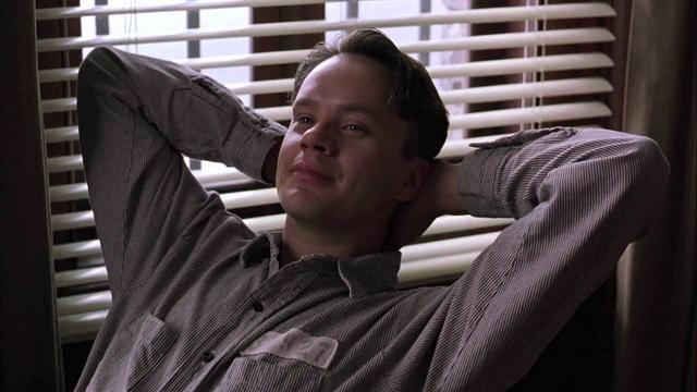 Prisone Guards Andy Dufresne from Shawshank redemption