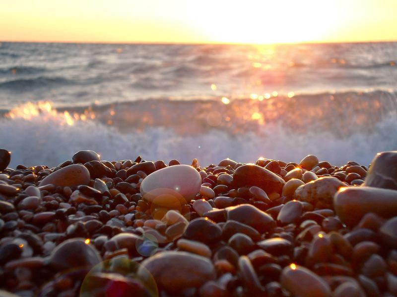 аромат картинка морские камушки и волны помощью