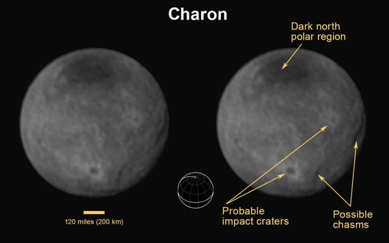 La NASA dévoile des images de Charon, la lune de Pluton http://t.co/0BFKan16pT
