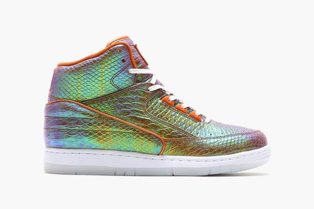 new concept 5fb74 6ce74 nike air python prm mocked up in reflective snakeskin