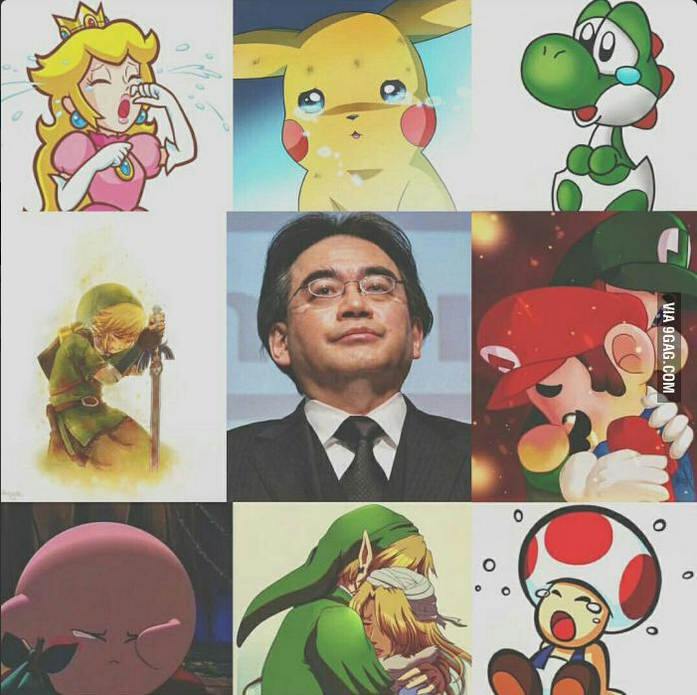 Japanese gaming giant Satoru Iwata passes away, leaving a legendary legacy at #Nintendo #ThankYouIwata @NintendoUK http://t.co/sS1OL10vW7