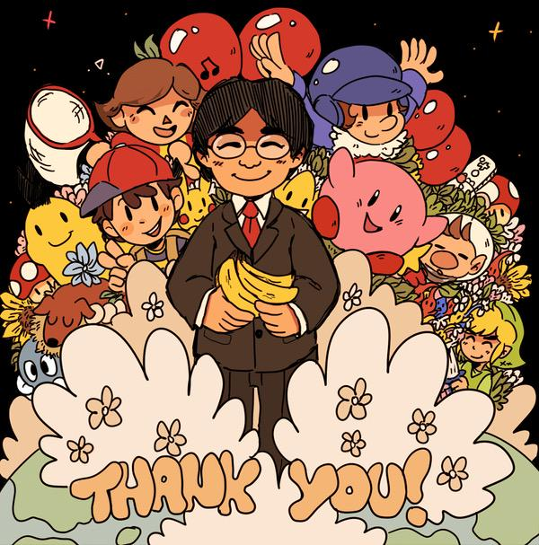 So long Iwata... http://t.co/73BytbDH7g