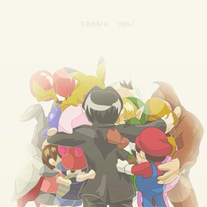 Thank you Iwata. #RIP #SatoruIwata http://t.co/AUSjuulCP9