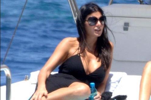 Ilaria D'Amico (nella foto) compagna di Buffon indagata per evasione fiscale