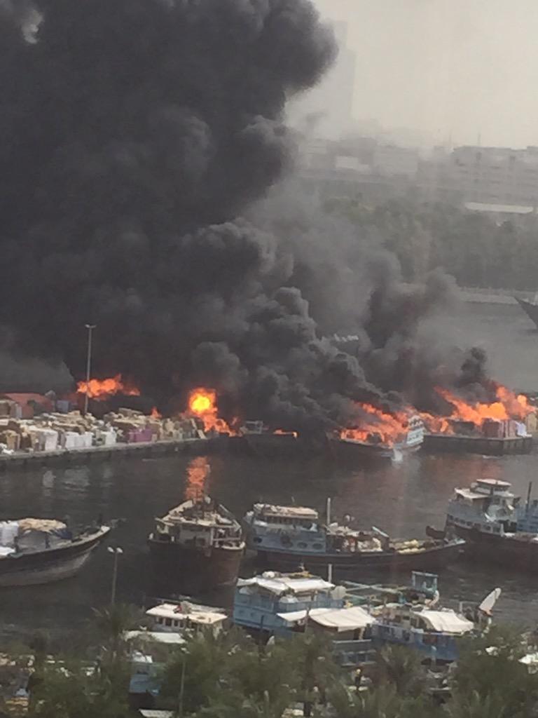 Happening now… #Dubai RT @Halla1101: Dubai creek fire http://t.co/4h4ZZh45pK