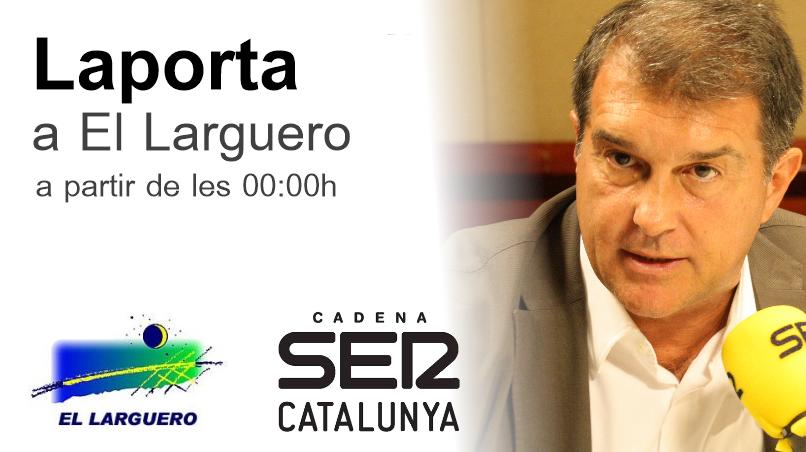STREAMING VÍDEO | Aquesta nit, @JoanLaportaFCB a @ellarguero A partir de les 00:00h http://t.co/r5K9lyMMo2 http://t.co/xEsEEqFSvE