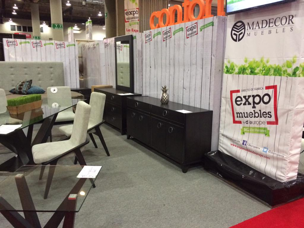 d 39 europe muebles on twitter madecor presente en expo