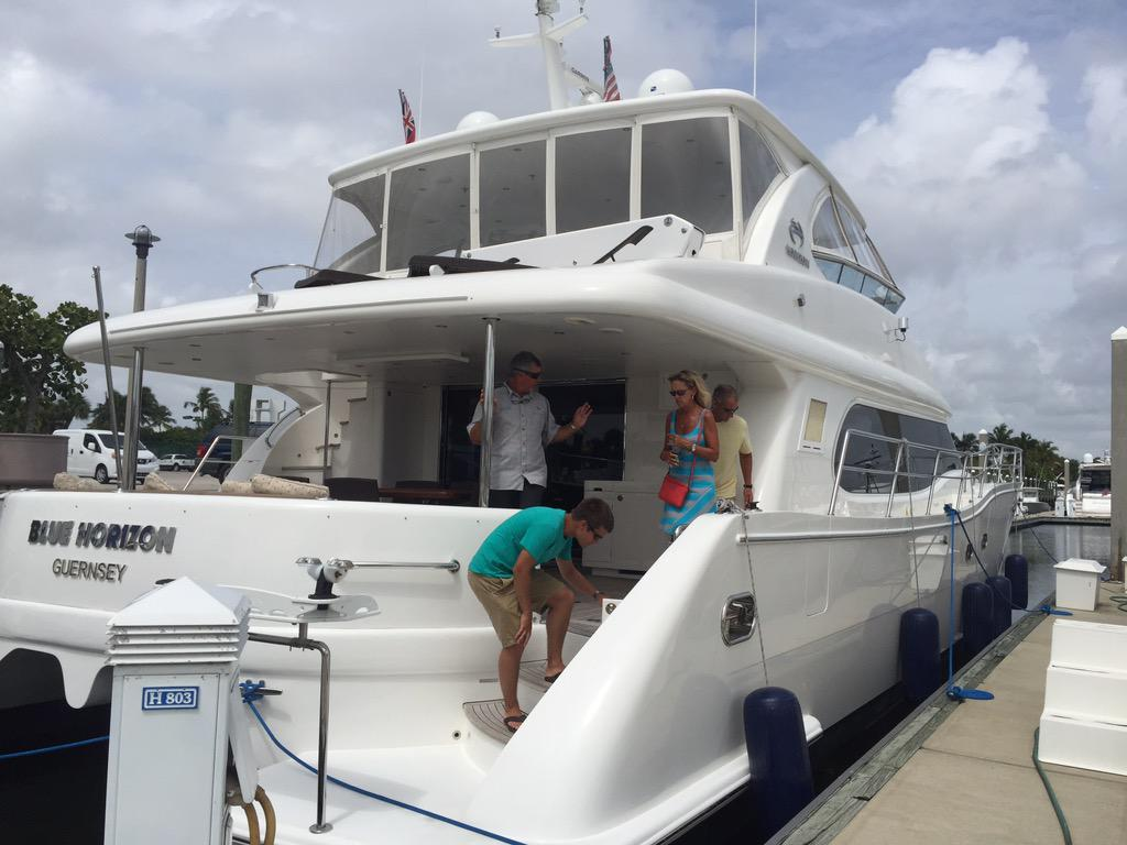 TYSM! Great pics! RT @RostTrevorrost: @horizonpowercat 60' in Fort Lauderdale, Fl. We love this Yacht!! http://t.co/PebXuAZa8H