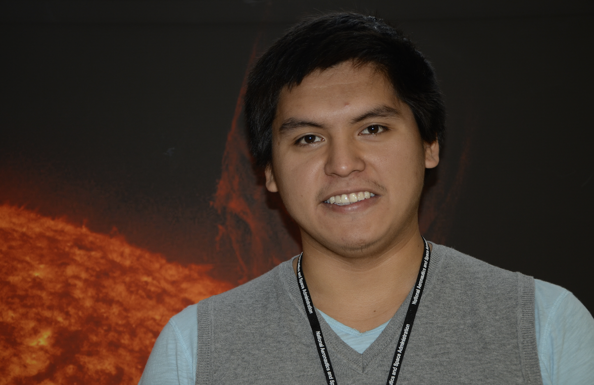 I'm Chris Cultee, a heliophysics intern @NASAGoddard. Here's my story for @NPR's #RaceOnTech http://t.co/jcPWfWOrVA http://t.co/8PSftzIPOJ