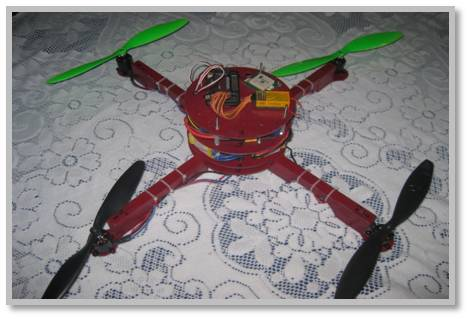 I built my first drone for @NASA_LaunchFest, then started making more in my spare time #RaceOnTech http://t.co/J8oGhGag4L