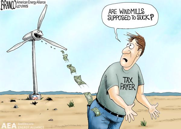 U S Wind Energy Sector Gets 176 Billion Worth Of Crony