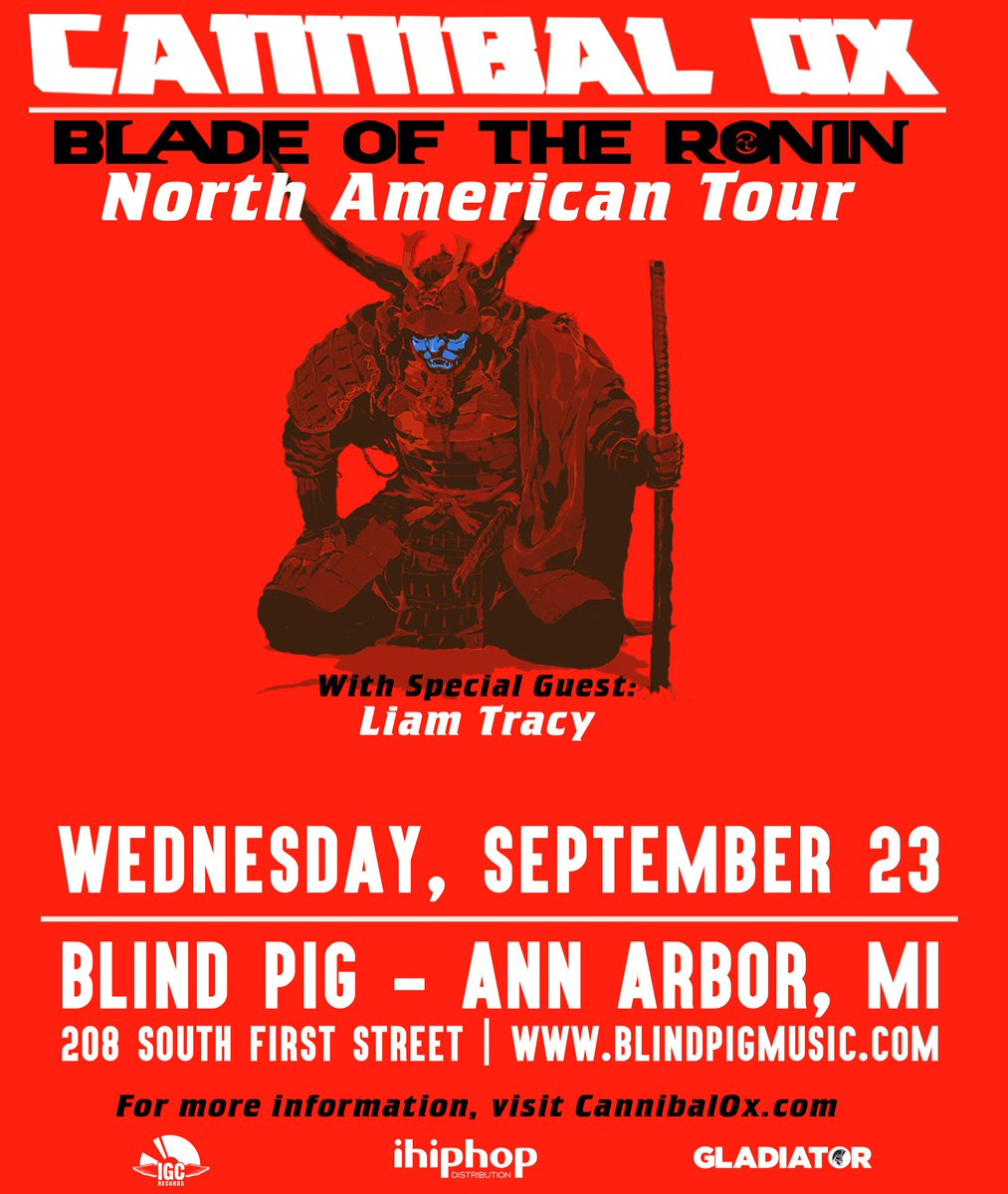 Can't stop, won't stop - @Cannibalox  wsg @LiamTracyMusic 9/23 at The Blind Pig!!  #realhiphop http://t.co/0jsLajPNJh http://t.co/b9eprnFC8r