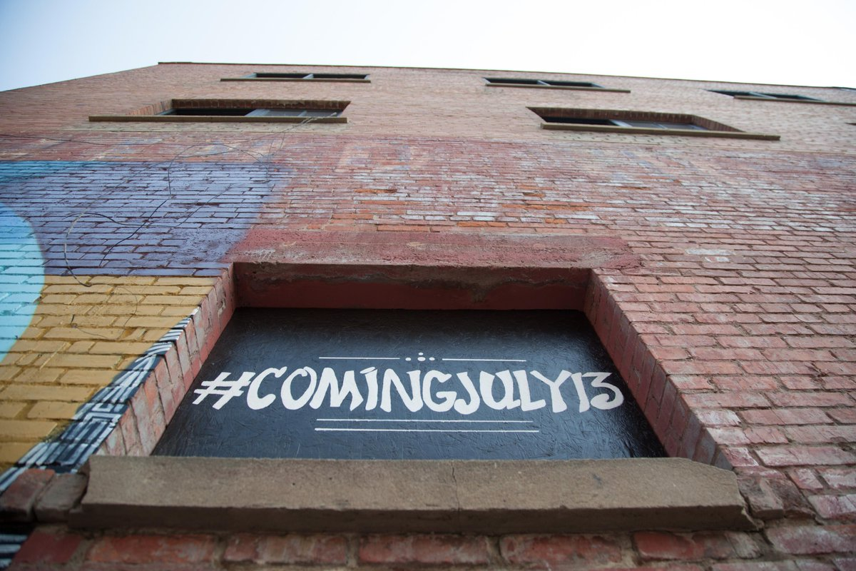 Catch the #ComingJuly13 action last week? Lots of buzz this morning. Official announcement at 12pm. #yeg #yegdt