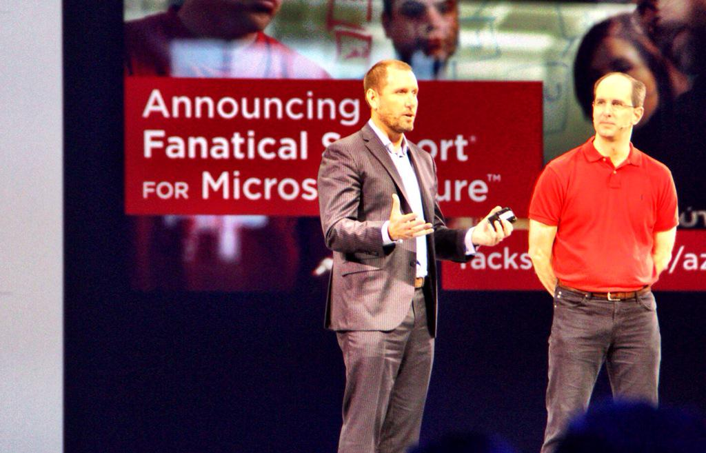 Today we're excited to launch Rackspace Fanatical Support for Microsoft Azure! #WPC15 http://t.co/mUh6nLPYzV http://t.co/UmVnhKbutW