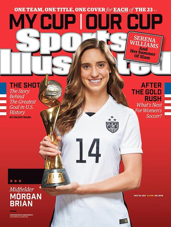 Check out the brand new @SInow covers featuring @moeebrian & @beckysauerbrunn!