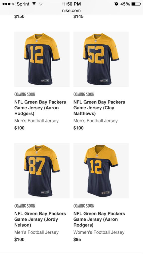 The Packers' Long-Promised Throwback May Have Leaked  Update  Leak ... 5eade1801