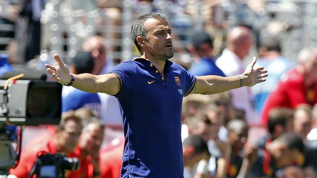 Luis Enrique Sees The Positives From Barca Loss