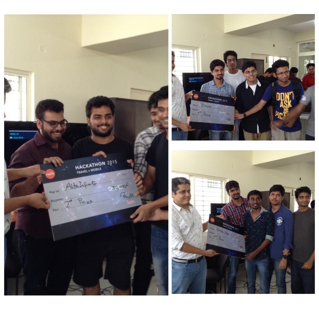 The winners at #mygolahack. Amazing minds! #travel #hackathon http://t.co/mI2aJxTLN5