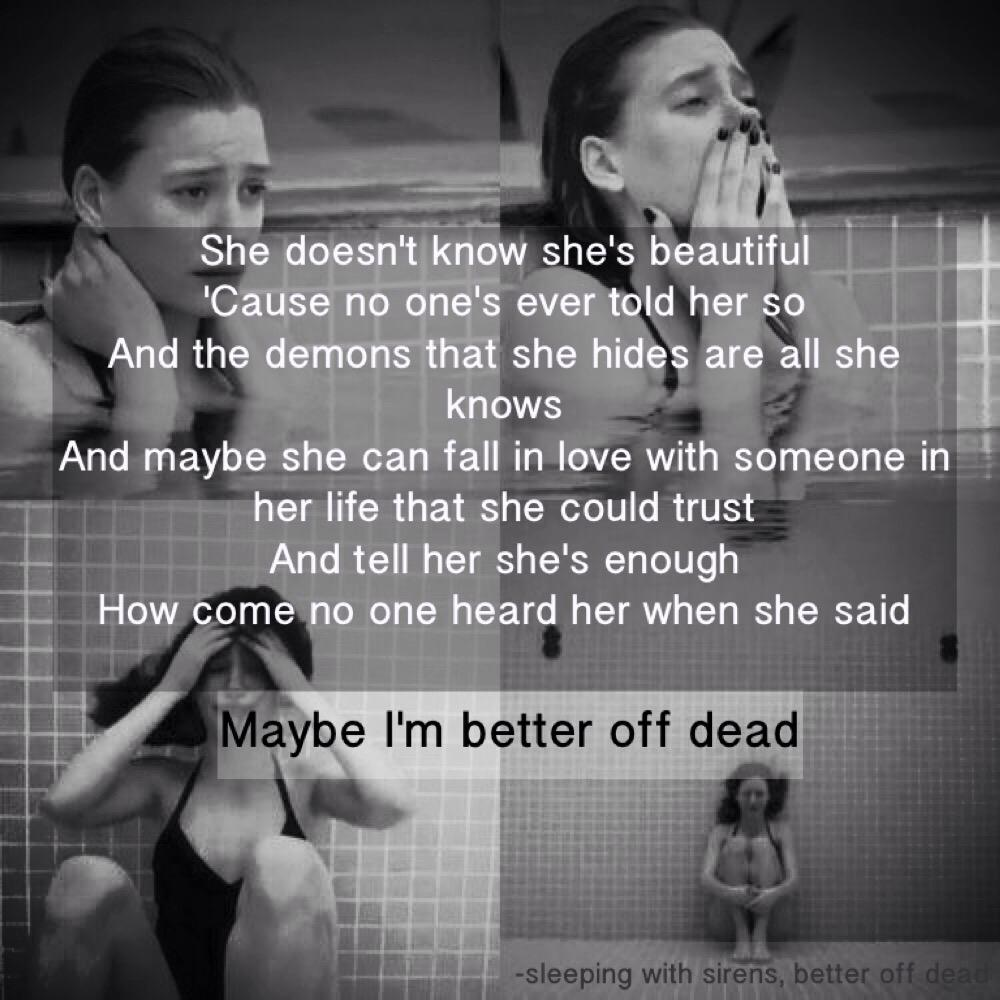 Better Off Dead Quotes 🌻Carly Rose🌹 on Twitter: