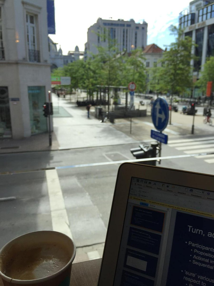 Good coffee, good view... Thanks #IPrA2015 http://t.co/Jp62S8h8qu