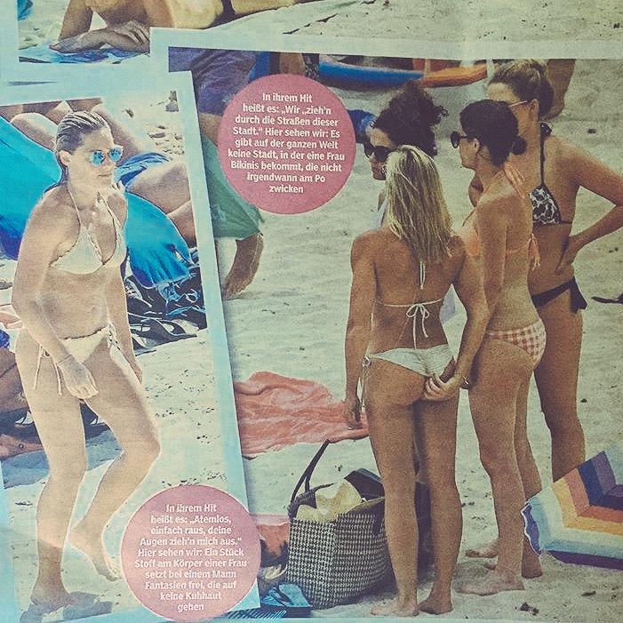 Fotos bikini helene fischer Jenna Fischer