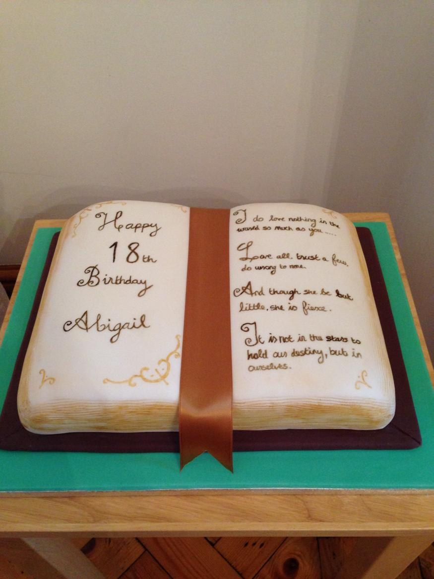 Prime Julie Roche On Twitter Open Book Cake Book Shakespearequotes Funny Birthday Cards Online Inifofree Goldxyz