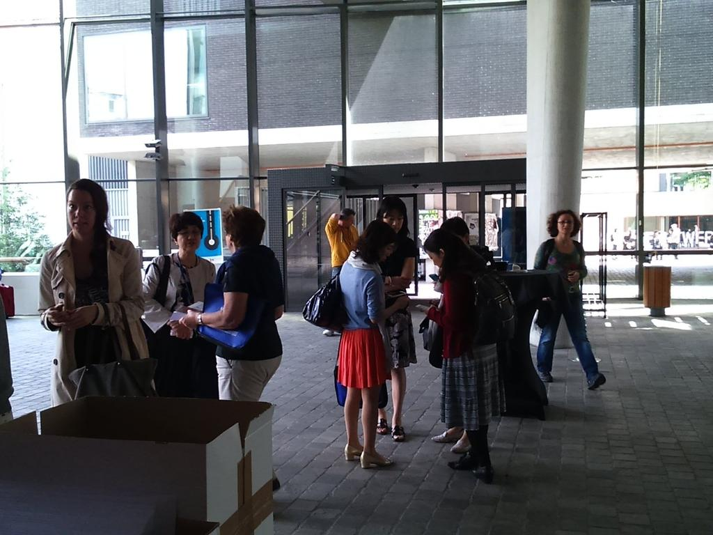 #IPrA2015 beginning! Lots of people coming for the first plenaries. http://t.co/LmWm4PxPcp