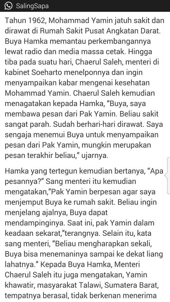 "Belajar memaafkan dari Buya Hamka"" By @fahiraidris - Chirpstory"