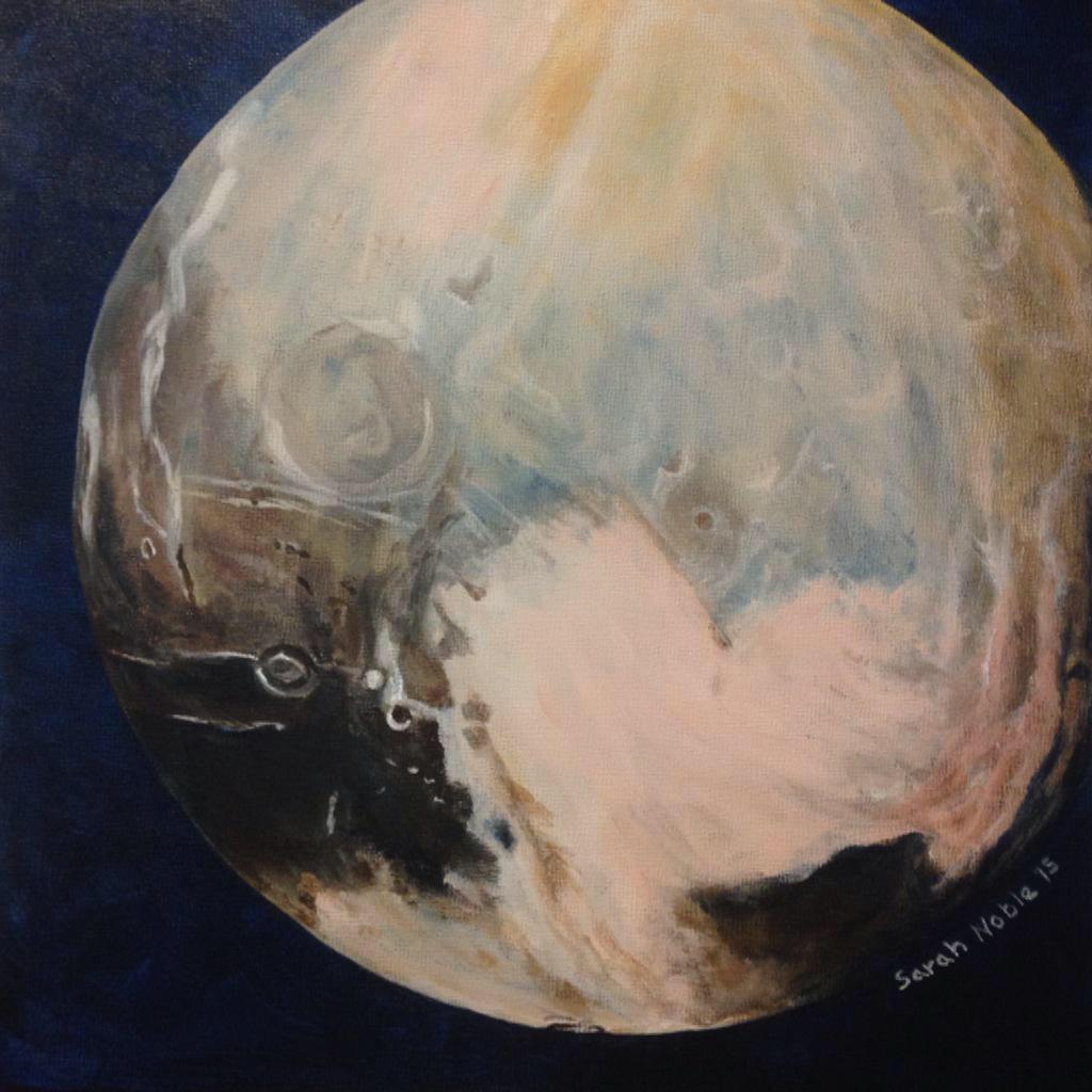 We suppose it's safe to say that Pluto was our summer love. (Image: Sarah Noble) @tremblaymusique http://t.co/hQeIBd8u06