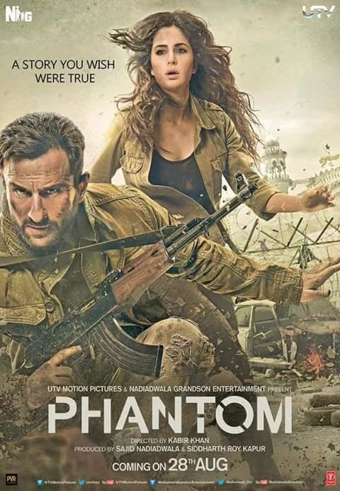 Phantom (2015) Movie Poster No. 1