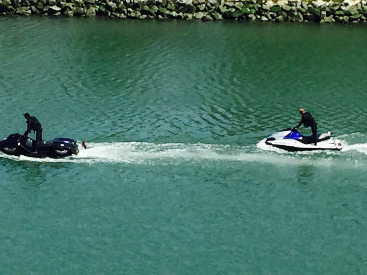 #sfpd. I'm sure the cops will say they were zipping around Mission Bay on important police business but looked fun. http://t.co/tPxlRxgfSq