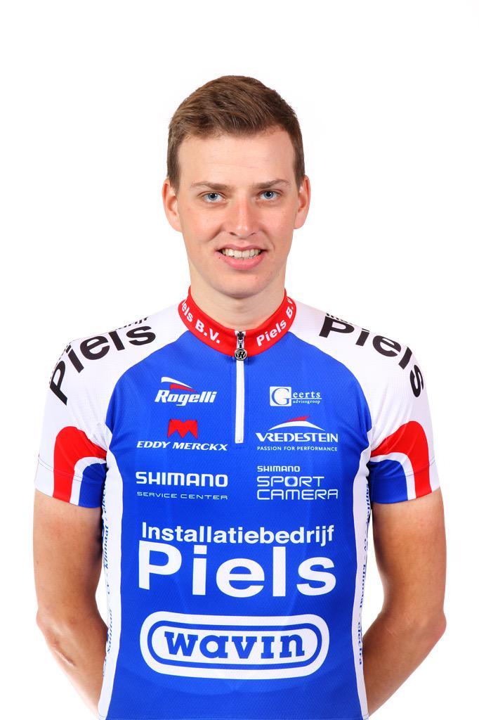 """Cyclingteam Jo Piels on Twitter: """"Verslag: Stefan Poutsma wint ..."""