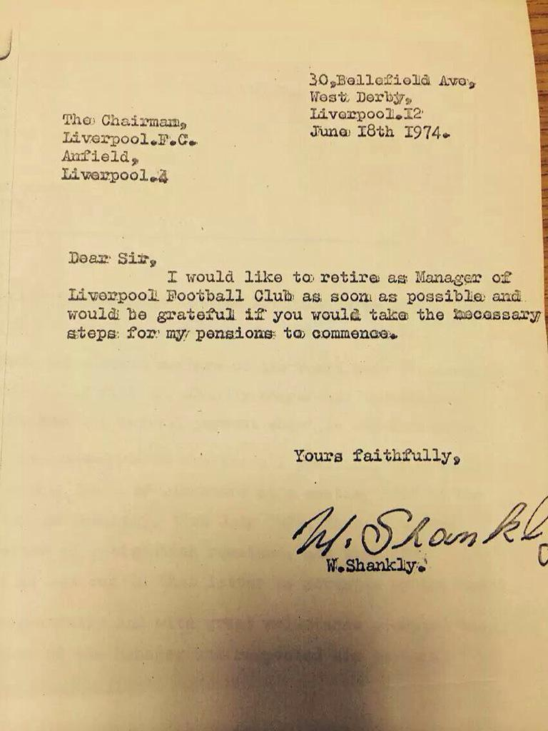 letter of resignation from a club