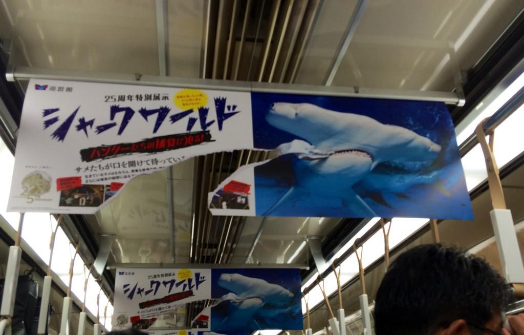 海遊館の広告が斬新すぎるww pic.twitter.com/wTX8mqA4CP