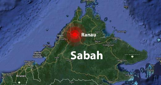 Berita Gempa Bumi di Ranau Gempa Bumi Gegar Ranau
